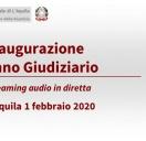 Inaugurazione Anno Giudiziario 2020